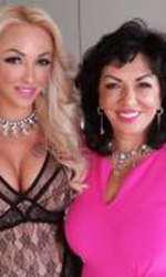 Carmen Harra şi fiica ei