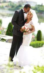 Cabral și Andreea Ibacka, imagini de la nuntă