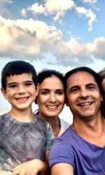 Dan Negru și familia sa