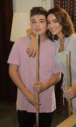 Geanina Ilieș și fiul ei, care a împlinit 13 ani
