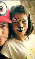 Răzvan Fodor și fetița lui, Diana