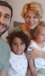 Dragoș Bucur și familia lui