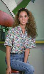 Elizabeth Berkley, alias Jessie Spano