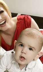 Cristina Rus și copilul ei