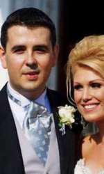 Cristina Rus și soțul ei