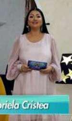Gabriela Cristea, în prima ediție a emisiunii