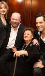 Tamara Buciuceanu a împlinit 90 de ani în august și a fost sărbătorită de actorii alături de care a jucat în Liceenii