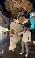Bianca Drăgușanu și Alex Bodi, în luna de miere