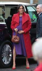 Ducesa de Sussex a purtat recent rochia de când era gravidă cu Archie...
