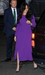 Meghan Markle a îmbrăcat din nou o rochie din perioada sarcinii cu Archie.