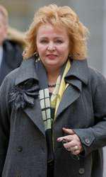 Liudmila. fosta soţie a lui Vladimir Putin