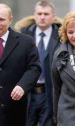 Vladimir Putin şi fosta soţie, Liudmila
