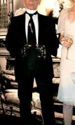 Claudia Schiffer și Karl Lagerfeld