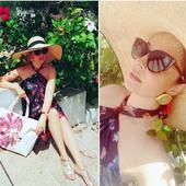 Andreea Marin, elegantă în vacanță