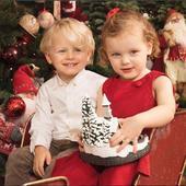 Gemenii prințesei Charlene de Monaco au împlinit 3 anișori. Imagini de colecție cu ei de Crăciun. Sunt superbi