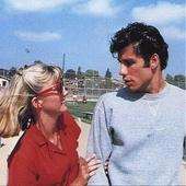 John Travolta Olivia Newton John Grease
