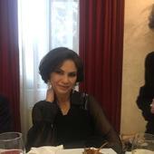 Ramona Badescu petrecere parinti