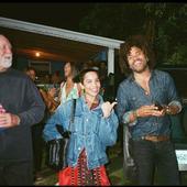 Lenny Kravitz si fata lui