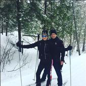 Catherine Zeta Jones si Michael Douglas la schi