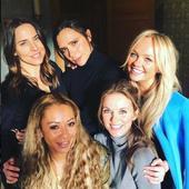 Emma Bunton si colegele din Spice Girls