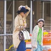 actrita Katie Holmes si fiica ei