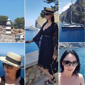 Andreea Marin poze din Spania