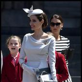 Angelina la Londra