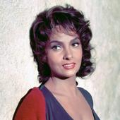 Gina Lollobrigida, in 1955