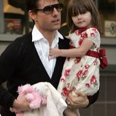 Tom Cruise si Suri in 2008