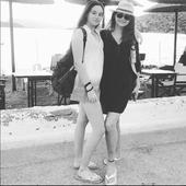 Corina Danila si fiica sa