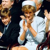 printesa Diana, Harry si William