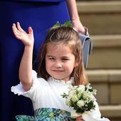 printesa Charlotte, ;a 3 ani