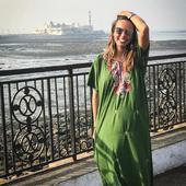 Andreea Raicu in India
