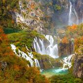 Parcul natural Plitvice în culorile toamnei