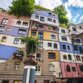Viena. Casa Hundertwasser