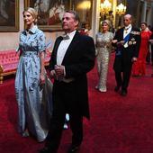 Ivanka Trump a venit imbracata intr-o rochie bleu, fara manusi