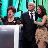 impreuna cu Stela Popescu si Andra, in 2014