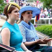 printesele Beatrice si Eugenie au avut alegeri interesante pentru palarii
