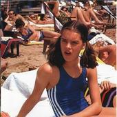Brooke Shields, in coplarie