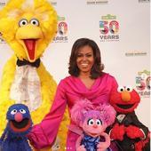 Michelle Obama, inainte de schimbarea de look