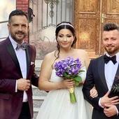 Cristina Șișcanu, rochie spectaculoasă la nunta Gabrielei Cristea, inspirată după ținutele lui Meghan Markle. O nasă extrem de frumoasă