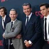 3 din cei 4 copii ai actorului
