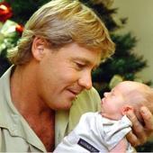 Robert Irwin si celebrul sau tata