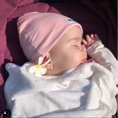 Sara, la cinci luni