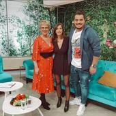 Dana Rogoz, in emisiunea lui Teo