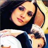 impreuna cu fiul ei
