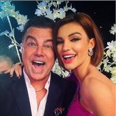 cu Adrian Enache, tatal ei