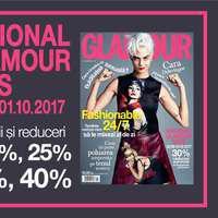National GLAMOUR Days 2017: un nou weekend de reduceri substanțiale