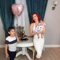 Prima poză cu chipul fiicei Elenei Gheorghe! Astăzi are loc botezul lui Amelie Nicole