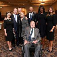 George Bush a ajuns la Terapie Intensivă după funeraliile soţiei sale